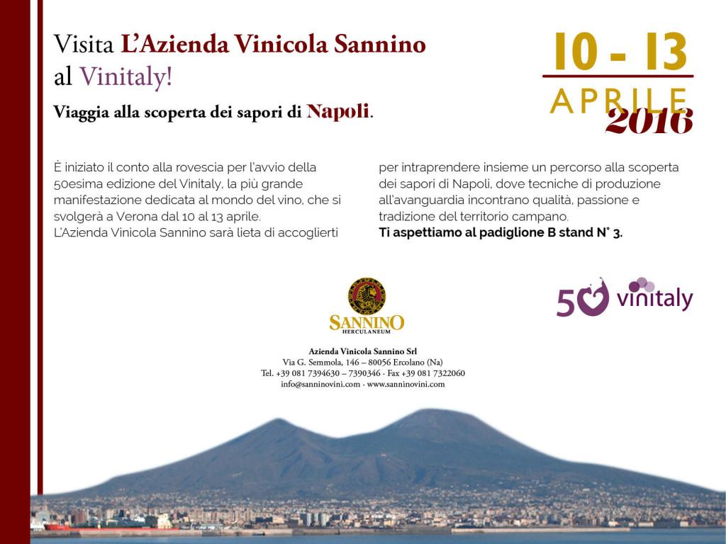 Vinitaly 2016 Sannino